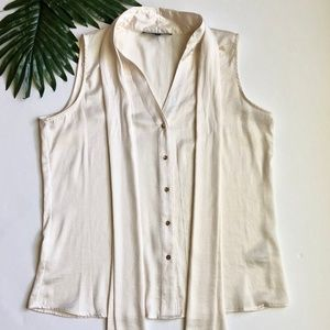 NWOT Chaus Women's Blouse Off-White Size 10